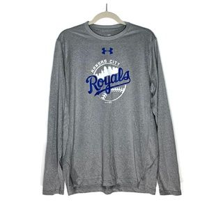 Under Armour KC Royals Shirt Men's Large Loose Fit